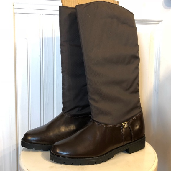 Etienne Aigner Shoes - Etienne Aigner Rain / Snow Alpine Boots Dark Brown